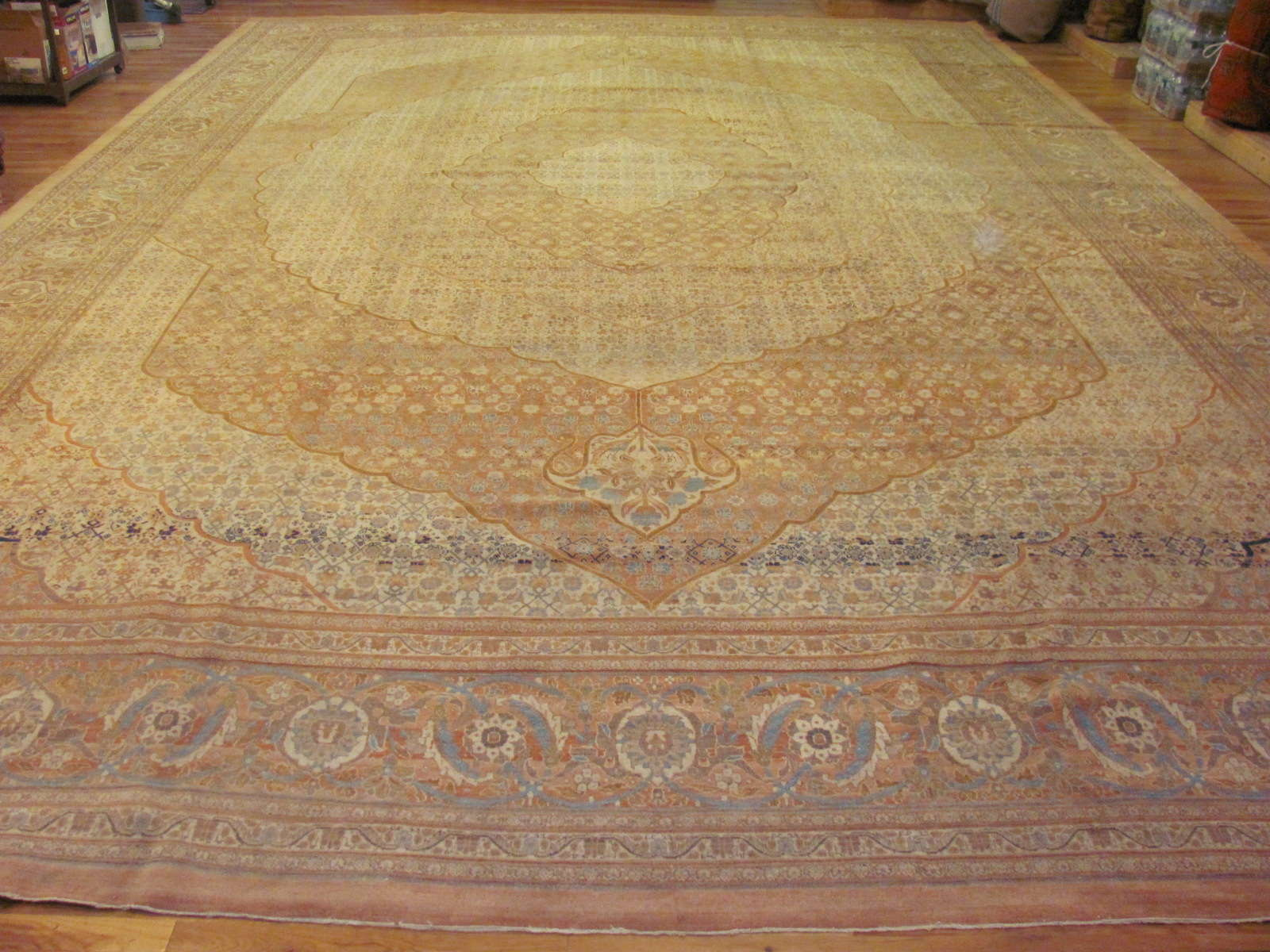 Tabriz Carpet | Persia | Handmade | Antique, Circa 1910