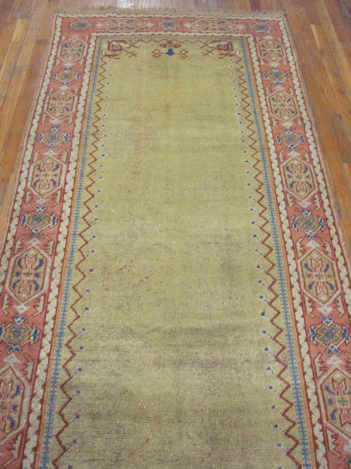 24268 Anatolian Oushak hall runner 3,8 x 23,9 (1)