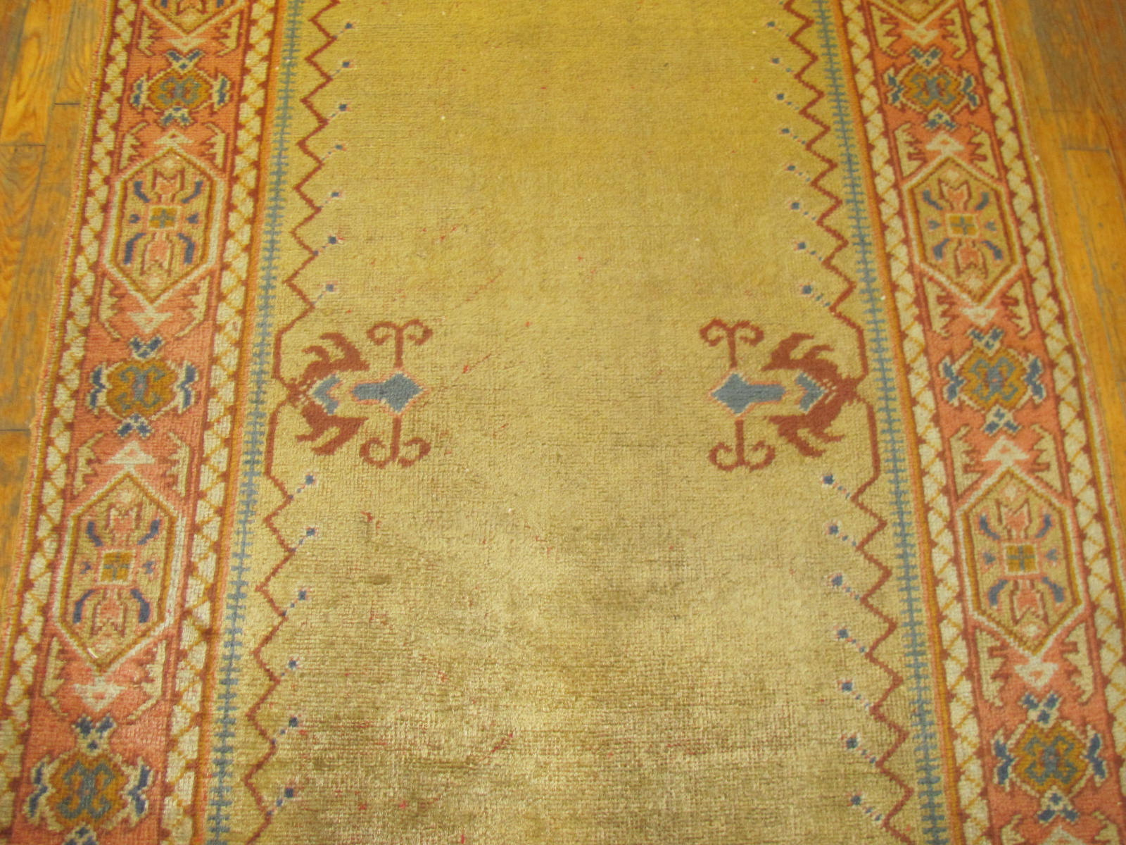 24268 Anatolian Oushak hall runner 3,8 x 23,9 (2)