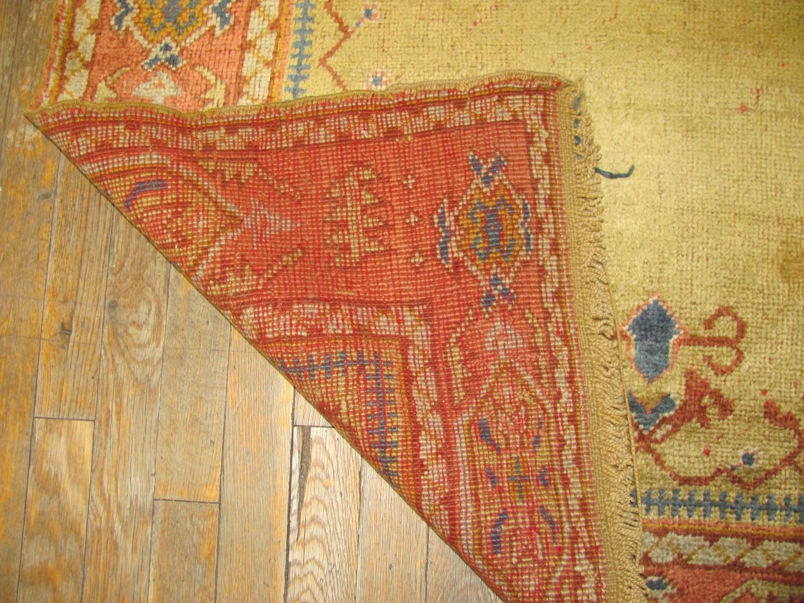 24268 Anatolian Oushak hall runner 3,8 x 23,9 (3)