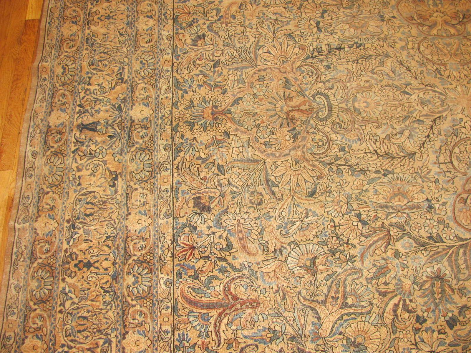 24270 Persian Kirman carpet 9,10 x 19,4 (2)