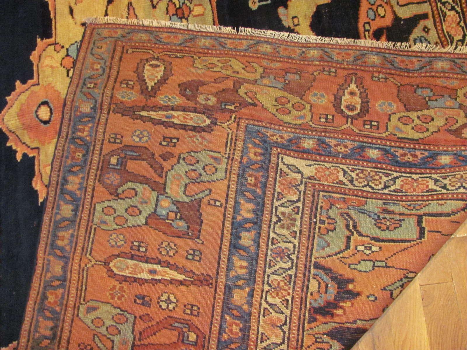 24271 Antique Caucasian Karabagh corridor rug 7,1 x 21,10 (1)