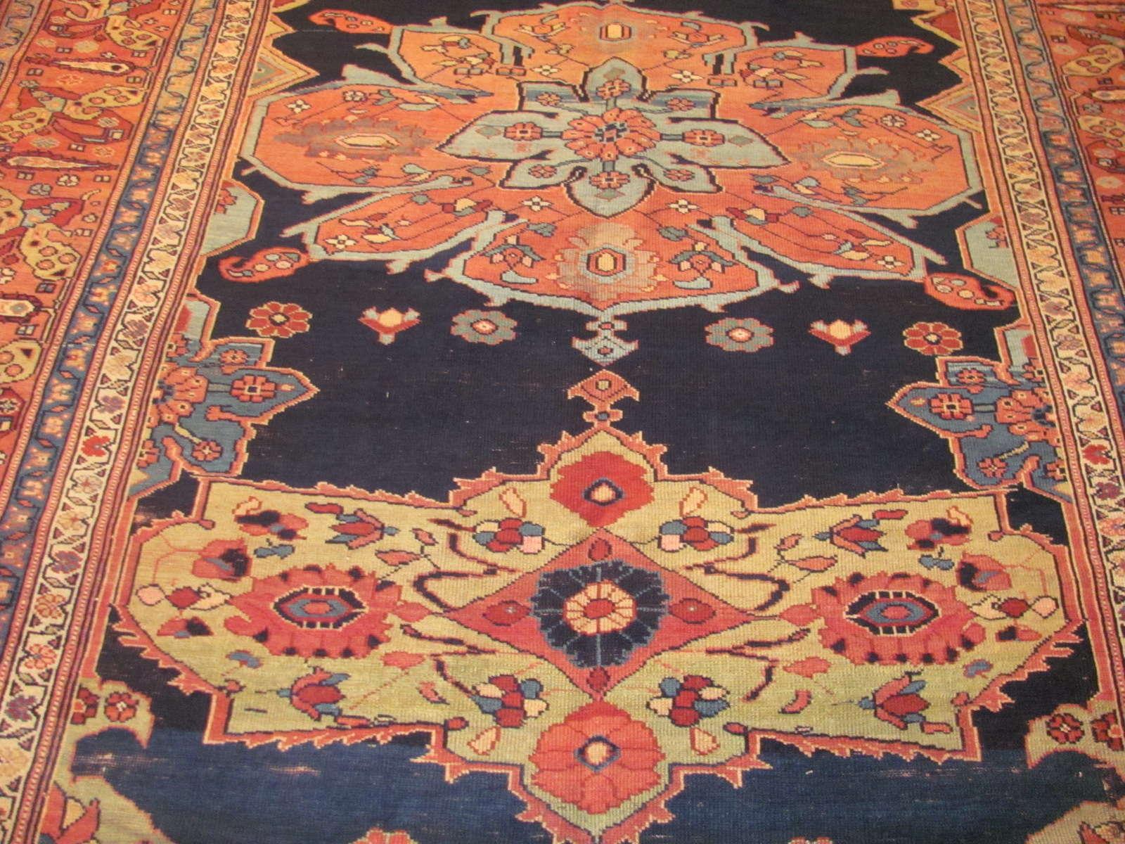 24271 Antique Caucasian Karabagh corridor rug 7,1 x 21,10 (2)