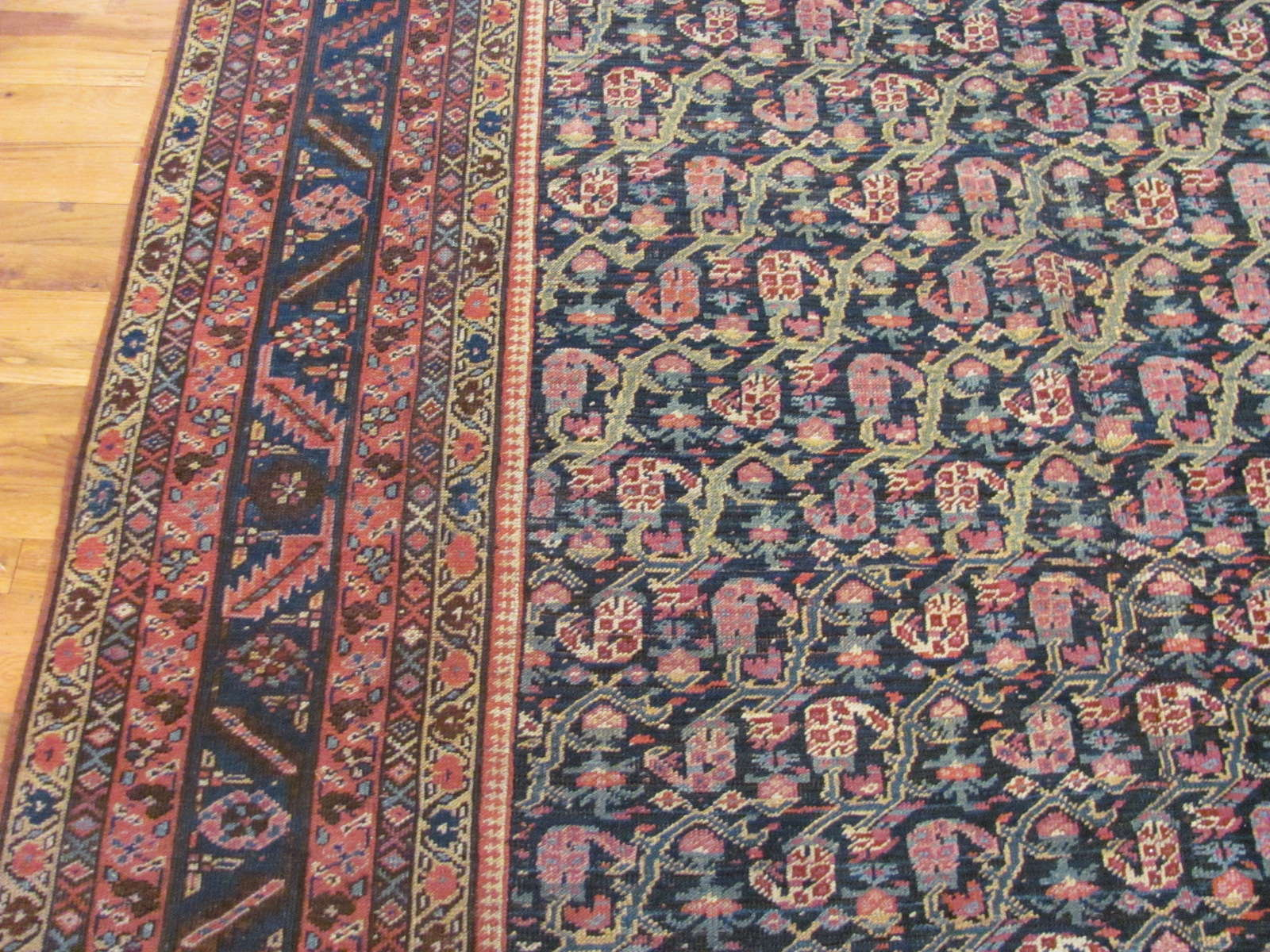 24285 antique Persian Bakshaish rug 6,9 x 17,5 (2)