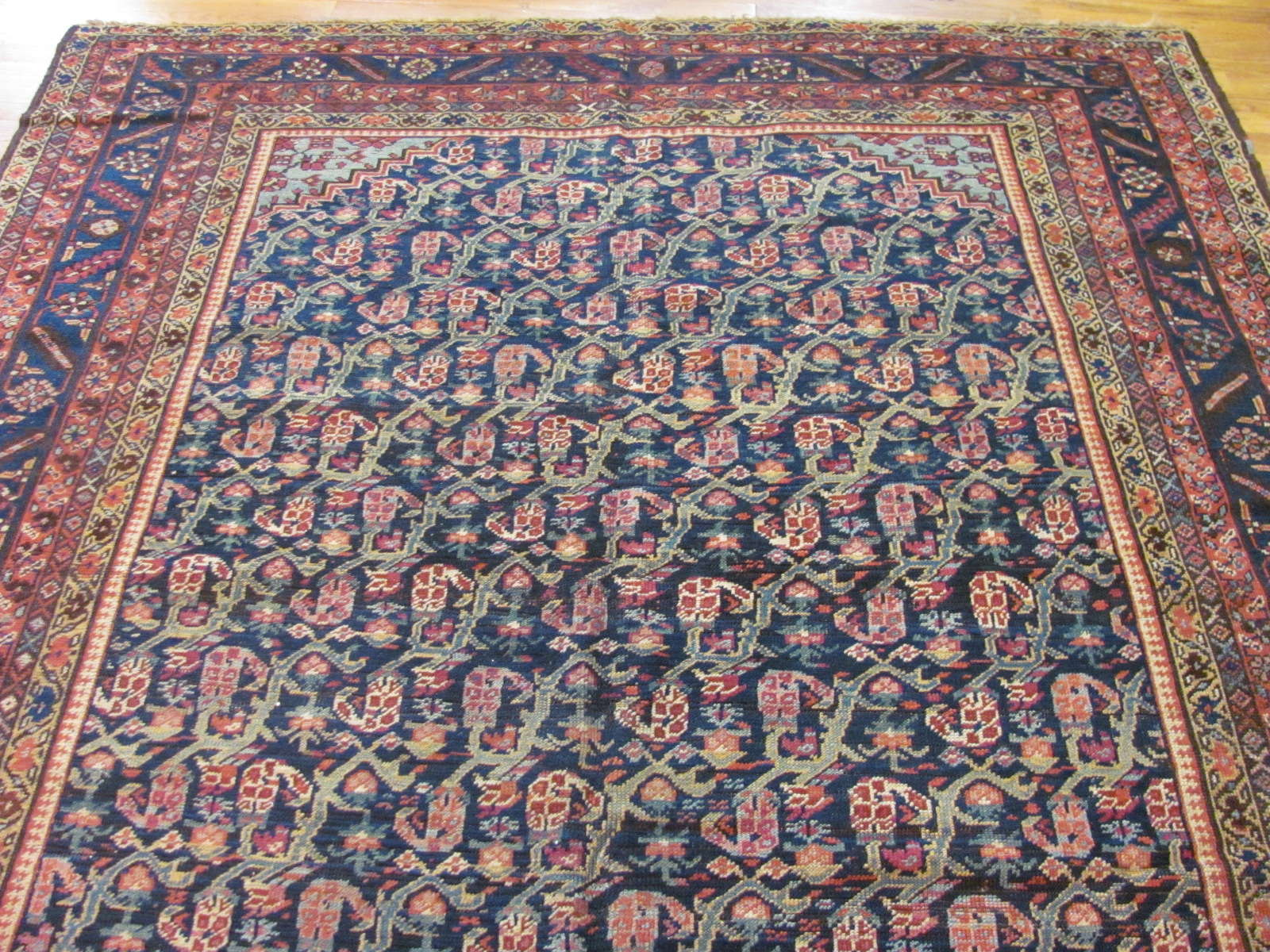 24285 antique Persian Bakshaish rug 6,9 x 17,5 (3)