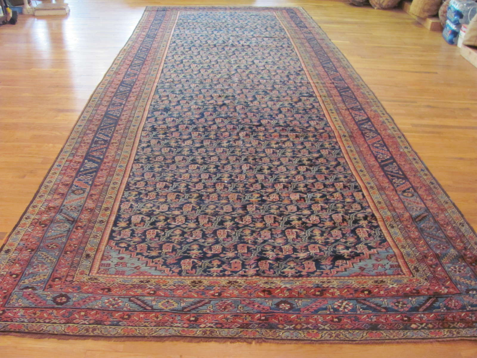 Antique Persian Bakshaish Rug | Circa 1910