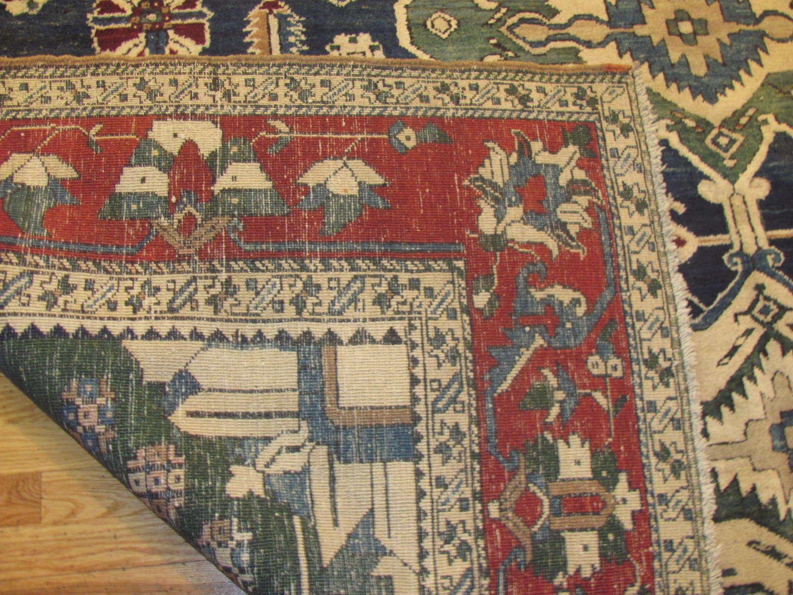 24298 Persian Heriz 9,8 x 18,1 (1)