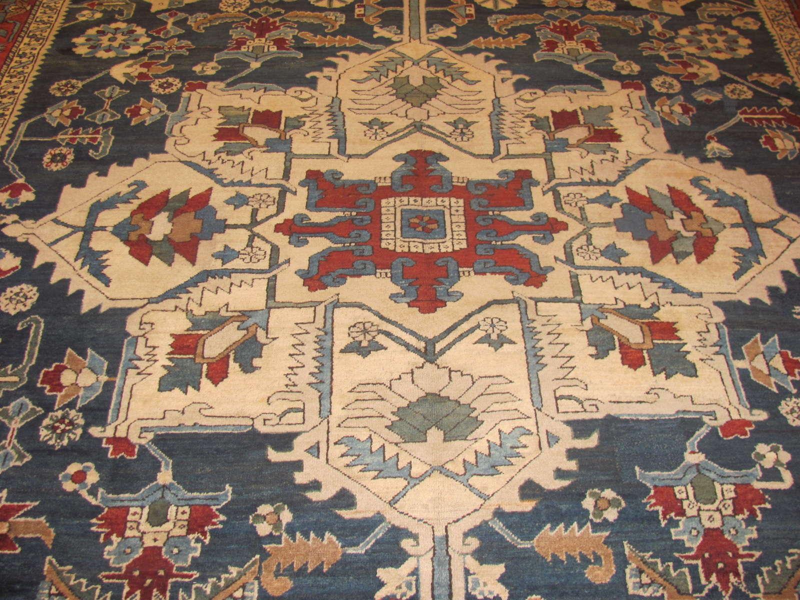 24298 Persian Heriz 9,8 x 18,1 (2)