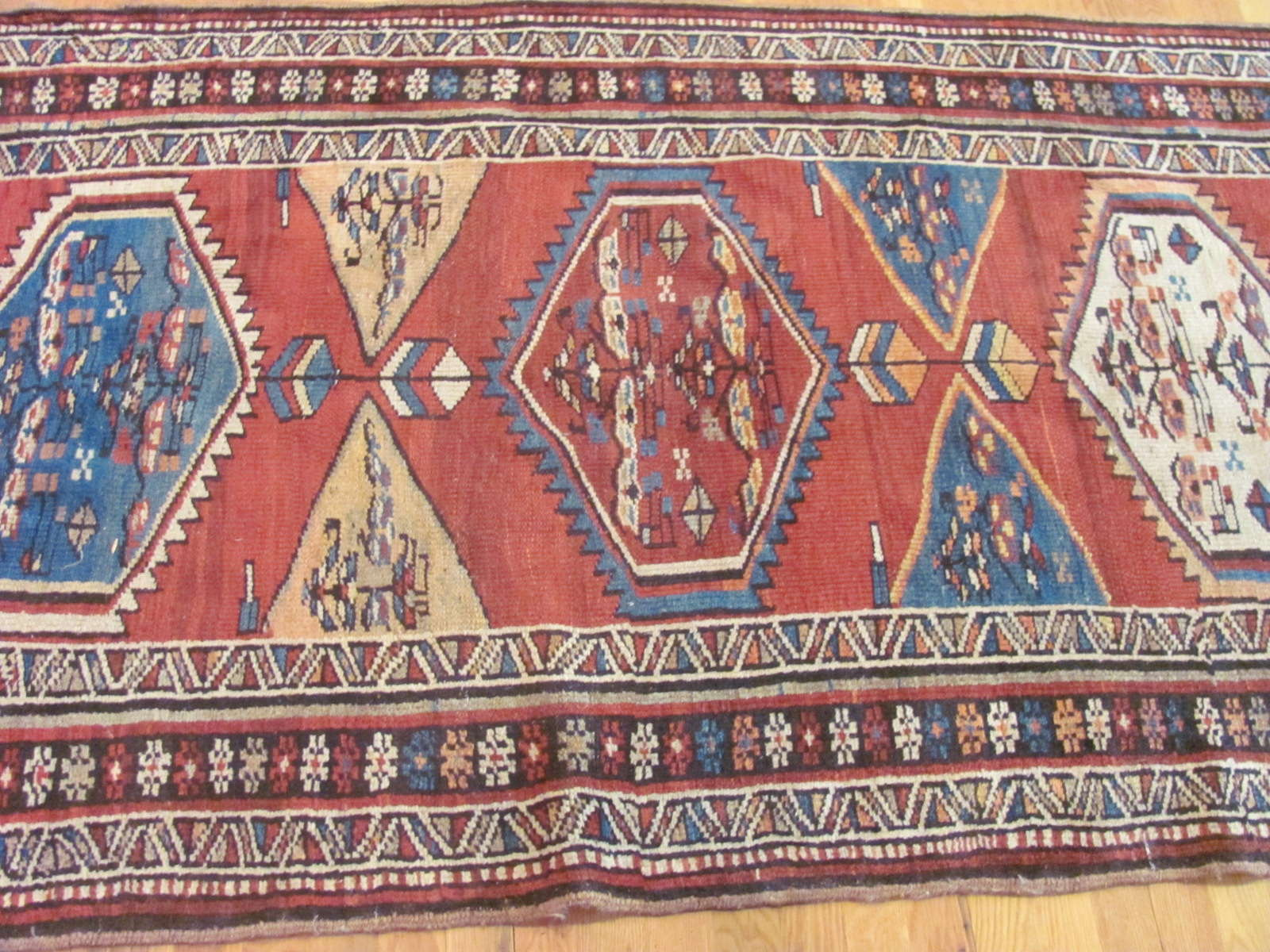 24302 Persian Kurd hall runner 3,9 x 15,5 (2)