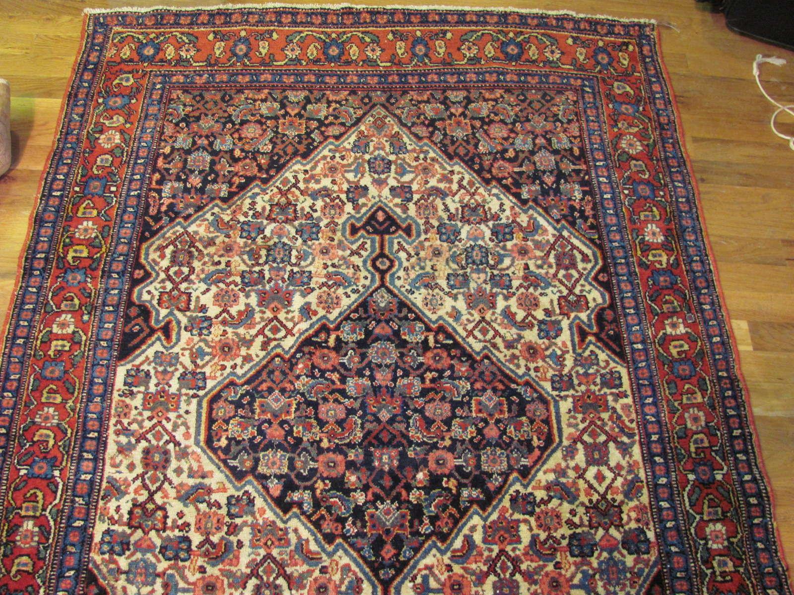 24308 Persian Senneh Kurd 4 x 17 (1)