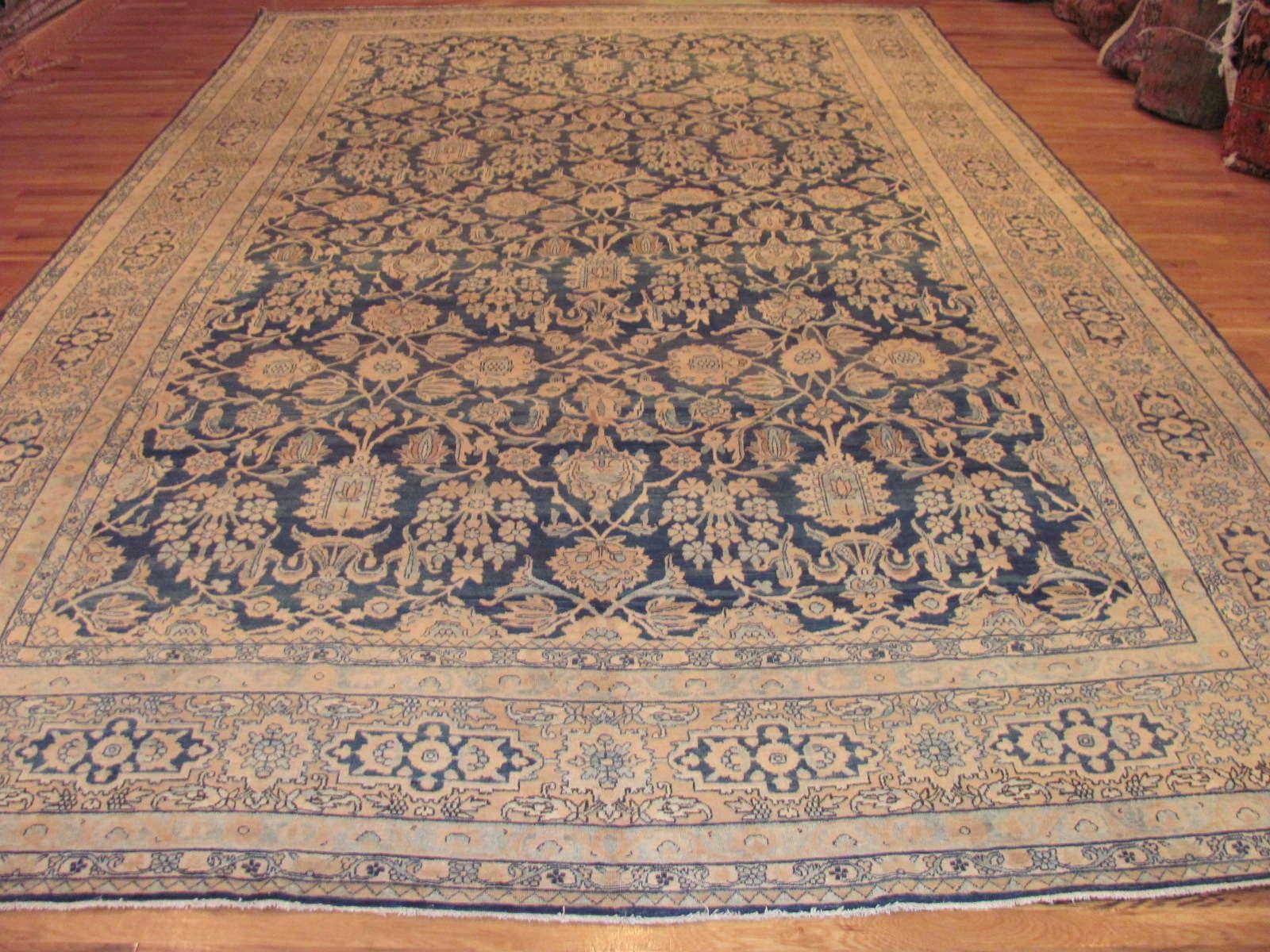 Antique Kerman Lavar Carpet | Persia | Circa 1910