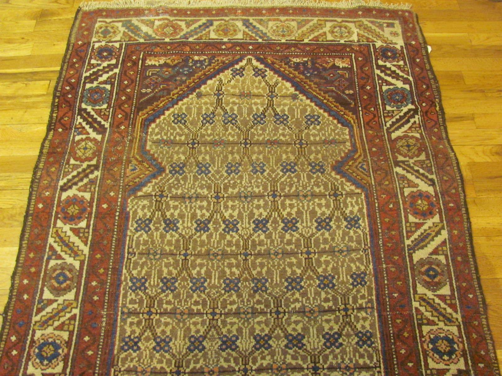 24332 antique Persian Hamadan camel hair 3,11 x 16,7 (2)