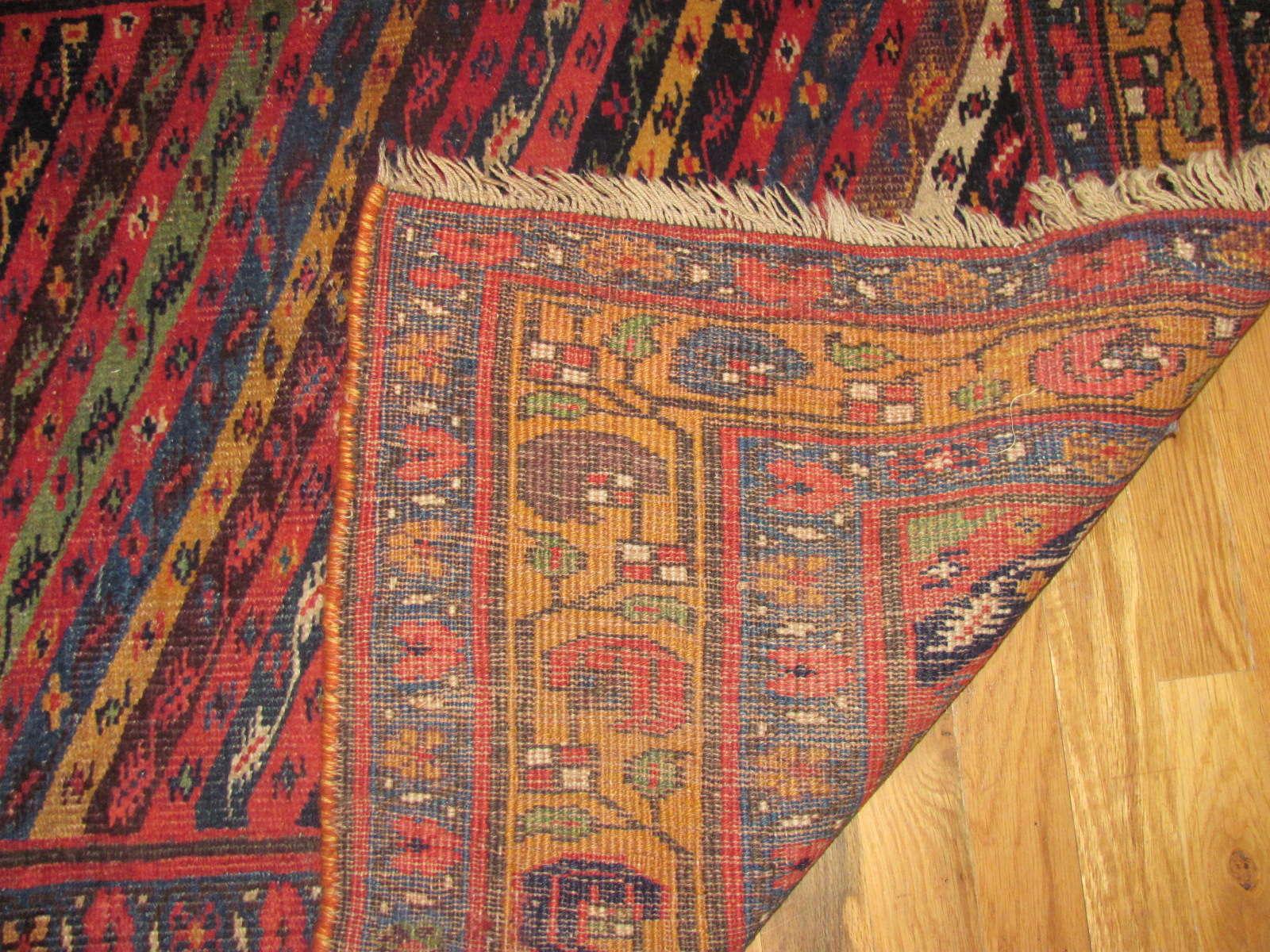 24339 antique Persian Bidjar 3,6 x 14,6 -3