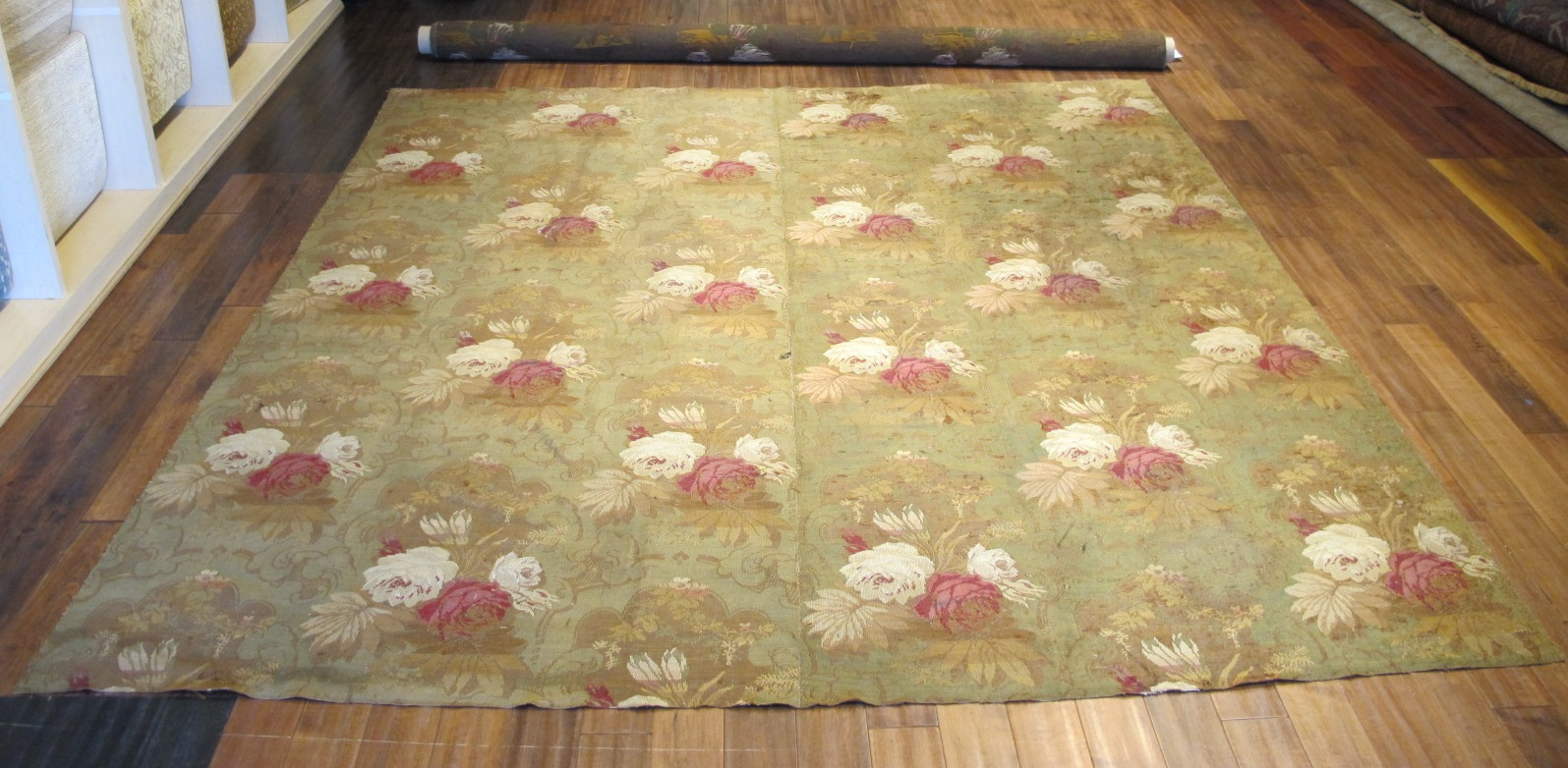 Jacquard Loom Rug | Europe | Antique, Early 1800s