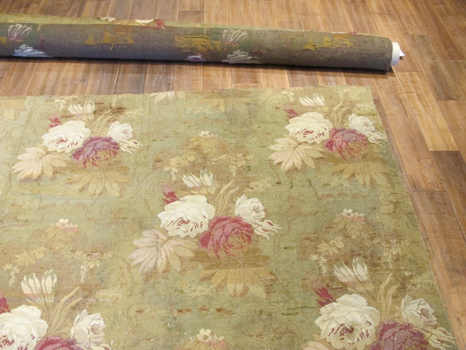 13038.2 European Jacquard Loom rug 9,6x9,8 (2)