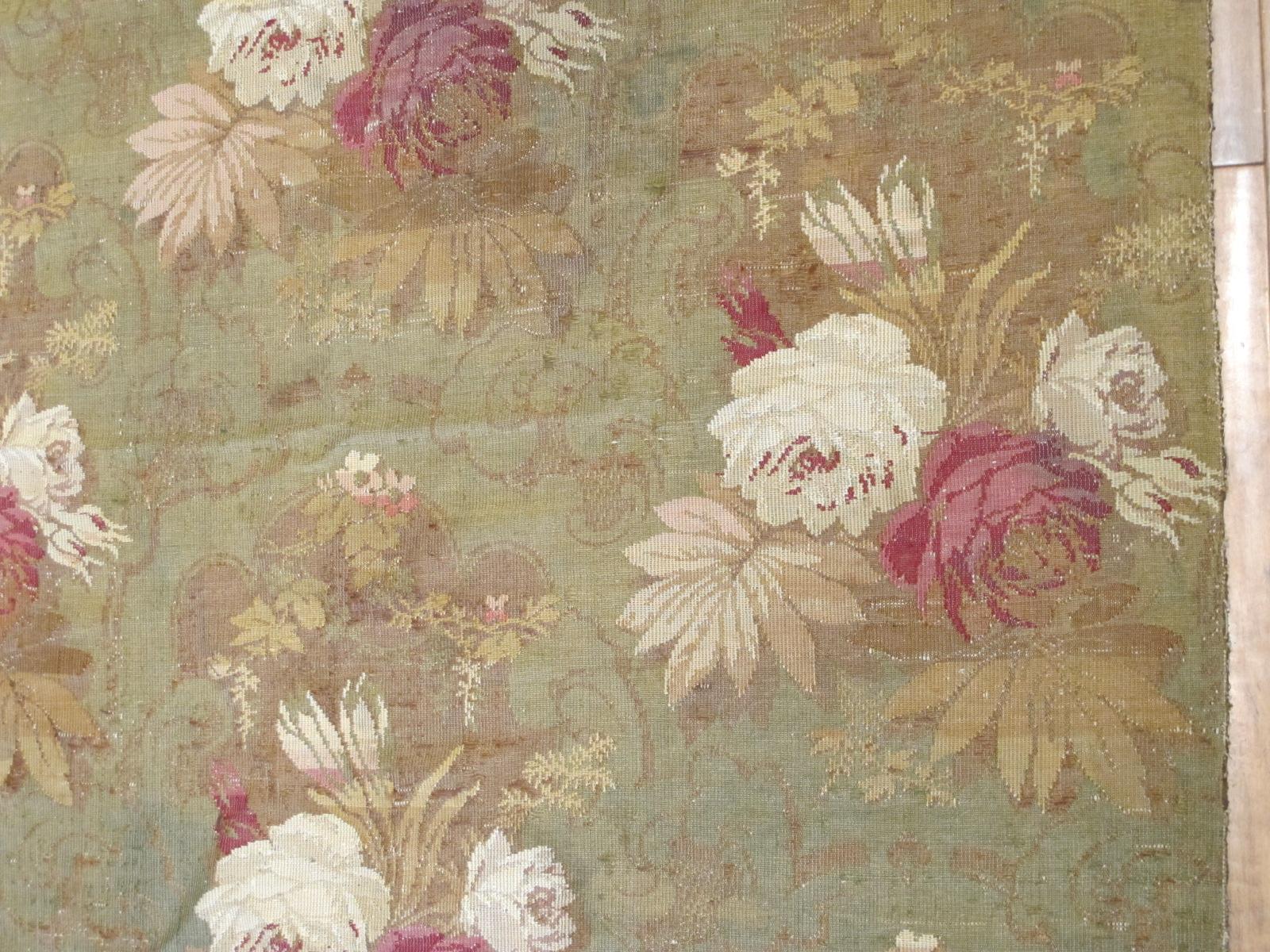 13038.2 European Jacquard Loom rug 9,6x9,8 (3)