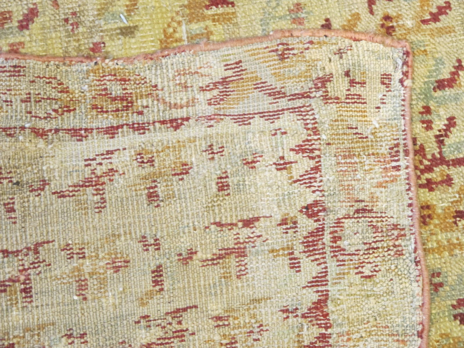 13077 Antique Anatolian Ghiordes rug 10,6 x 16,4 (6)