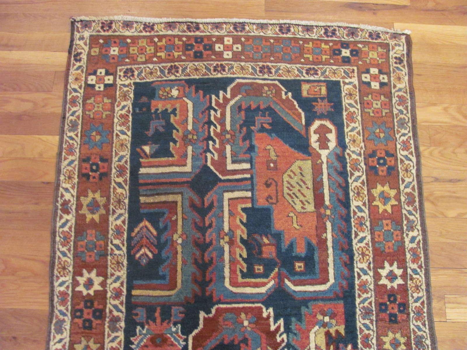 24338 antique Persian Bakshaish runner 2,10 x 15,1 -1