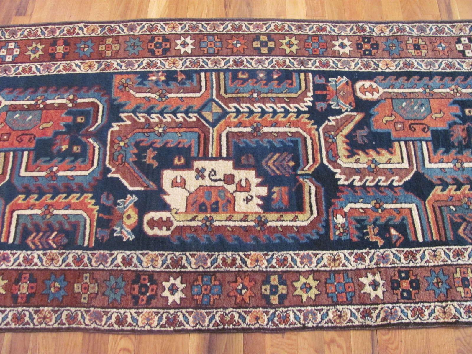 24338 antique Persian Bakshaish runner 2,10 x 15,1 -2
