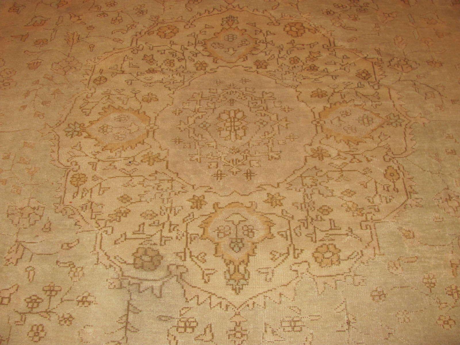 24349 antique Anatolian Oushak 11,10 x 14,7 -2