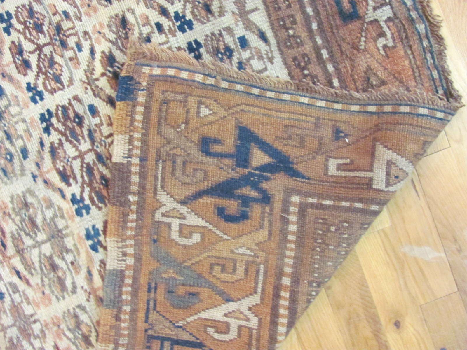 24357 Nortwest Persian Kurd runner 4 x 13 -3