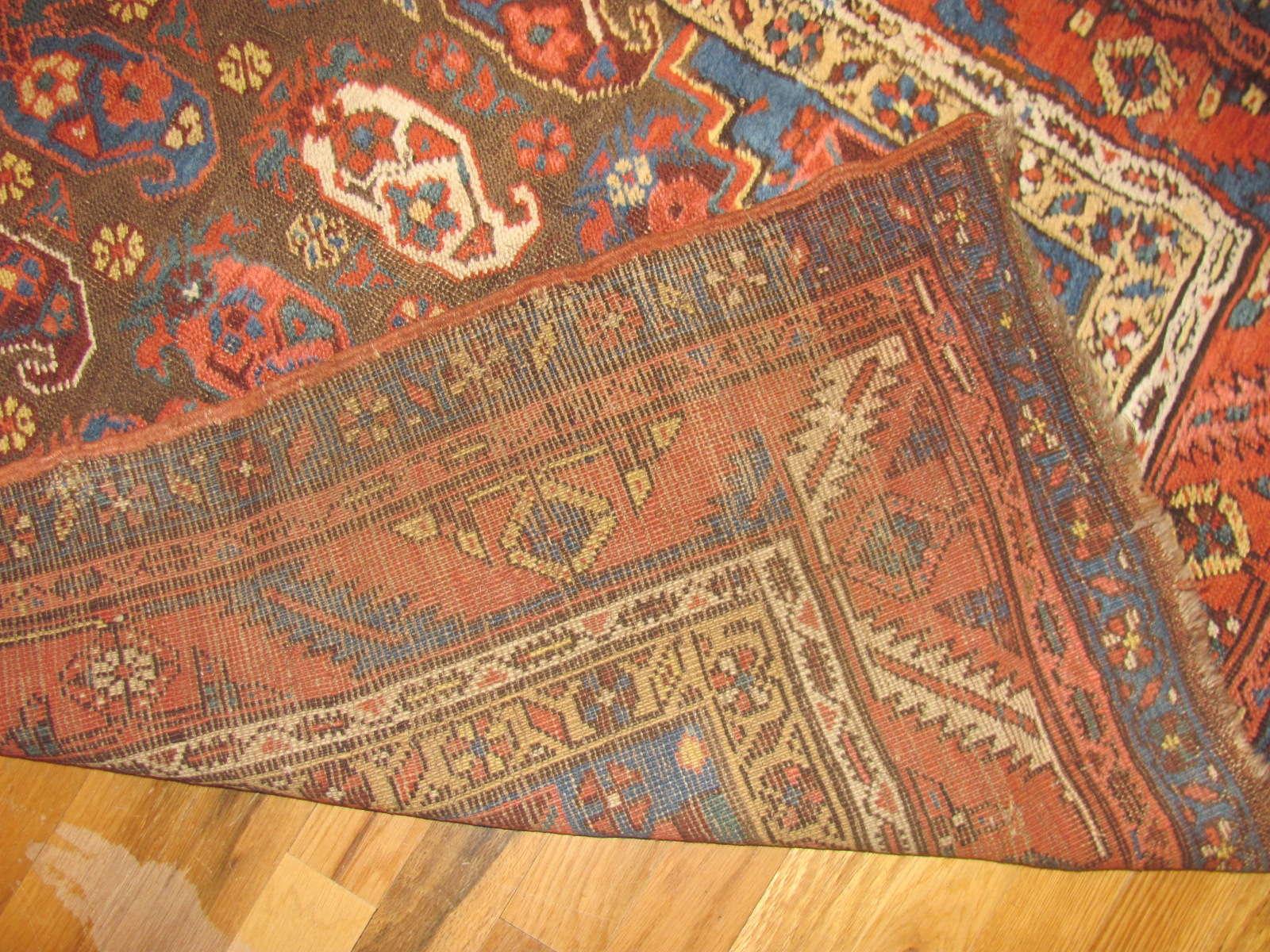24369 antique Persian Bakshaish 3,2 x 13,8 -3