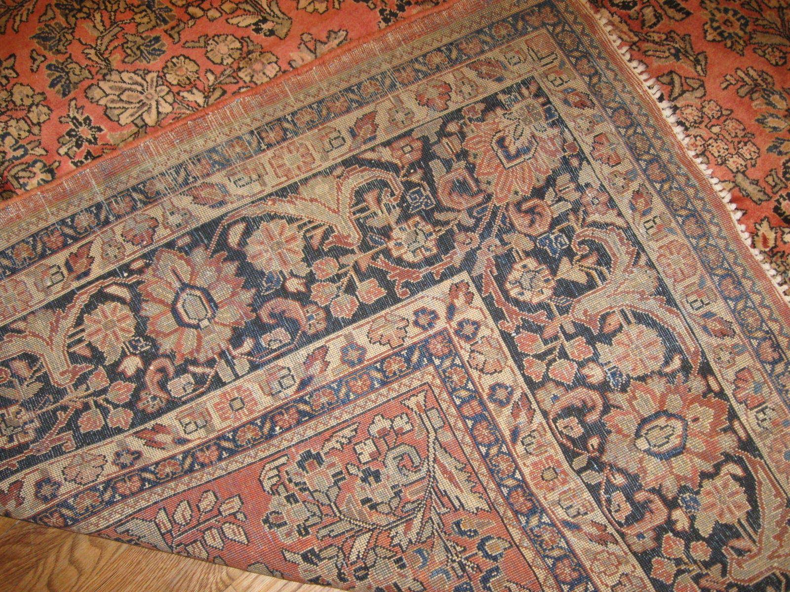 24380 Persian Sarouk rug 8,6x12 -
