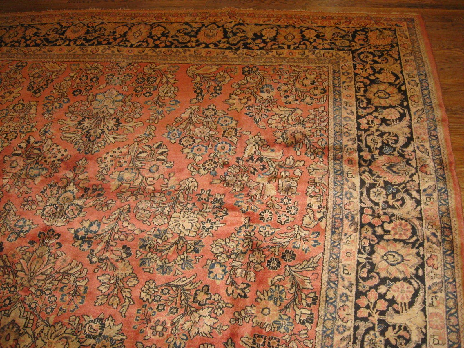24380 Persian Sarouk rug 8,6x12 -1