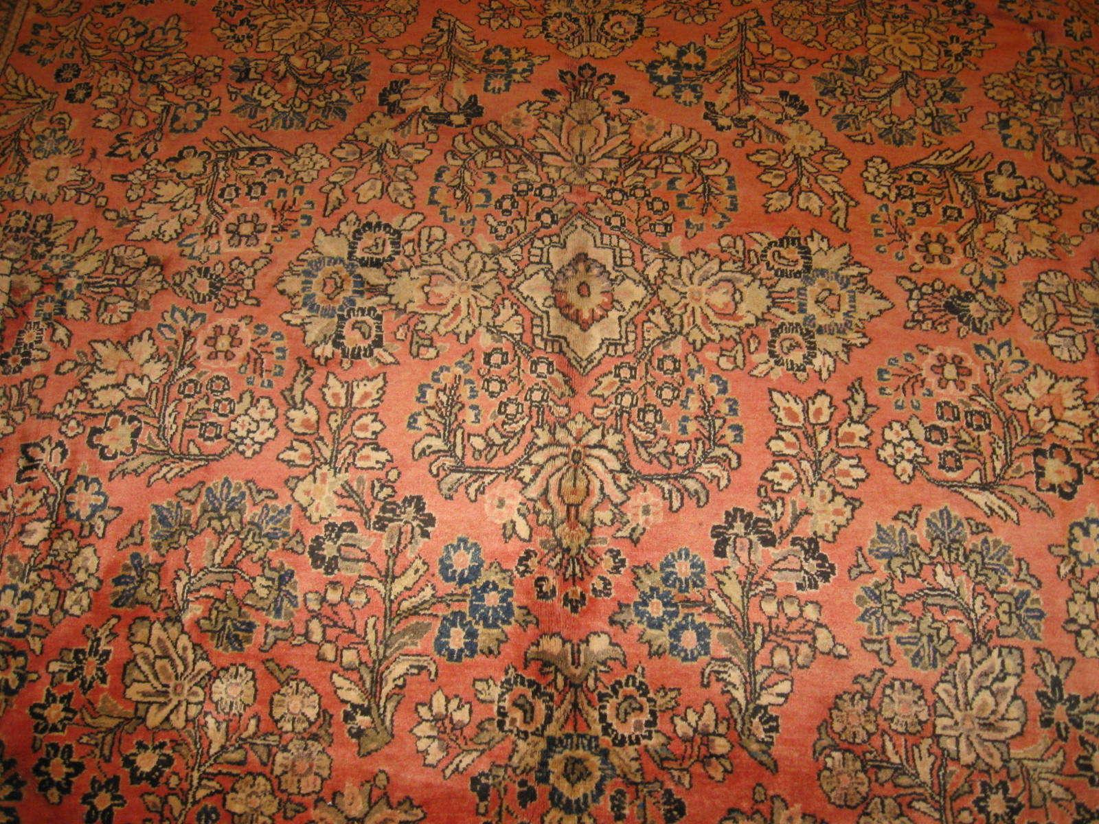 24380 Persian Sarouk rug 8,6x12 -2