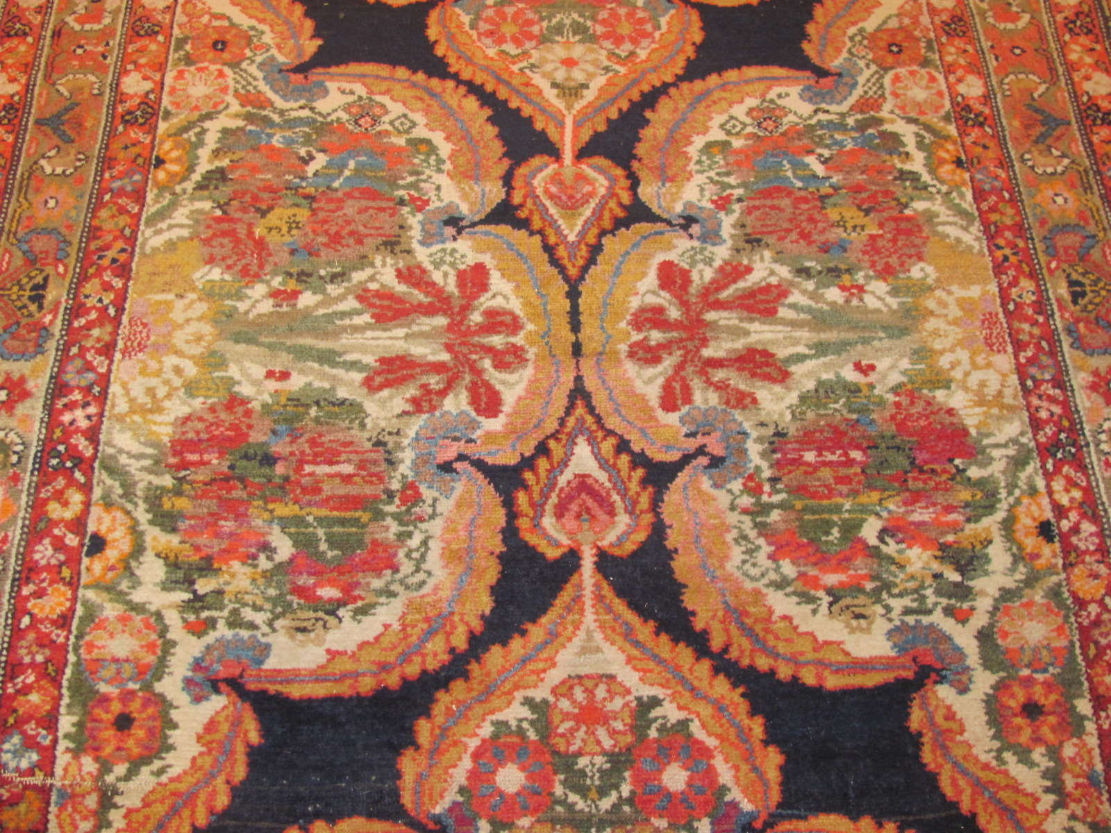 24430 antique persian malayer gallery runner 4,9x11,9 -2
