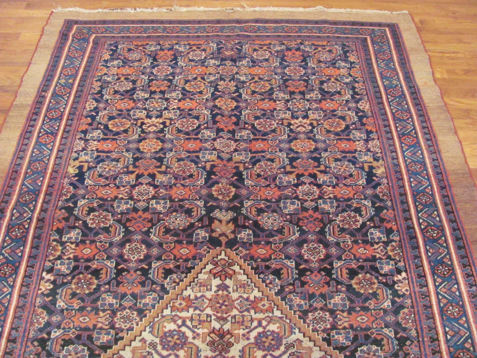 24437 antique Persian Hamadan rug 5,4x10,4 -1