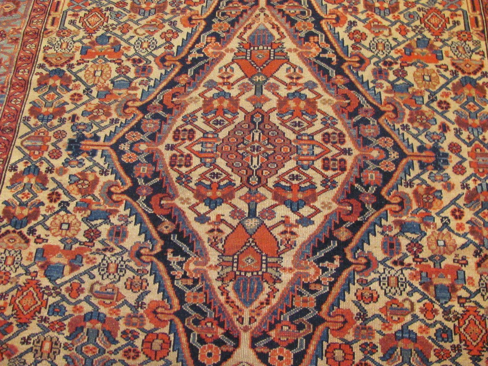 24464 antique Persian Malayer carpet 6,7x11 -2