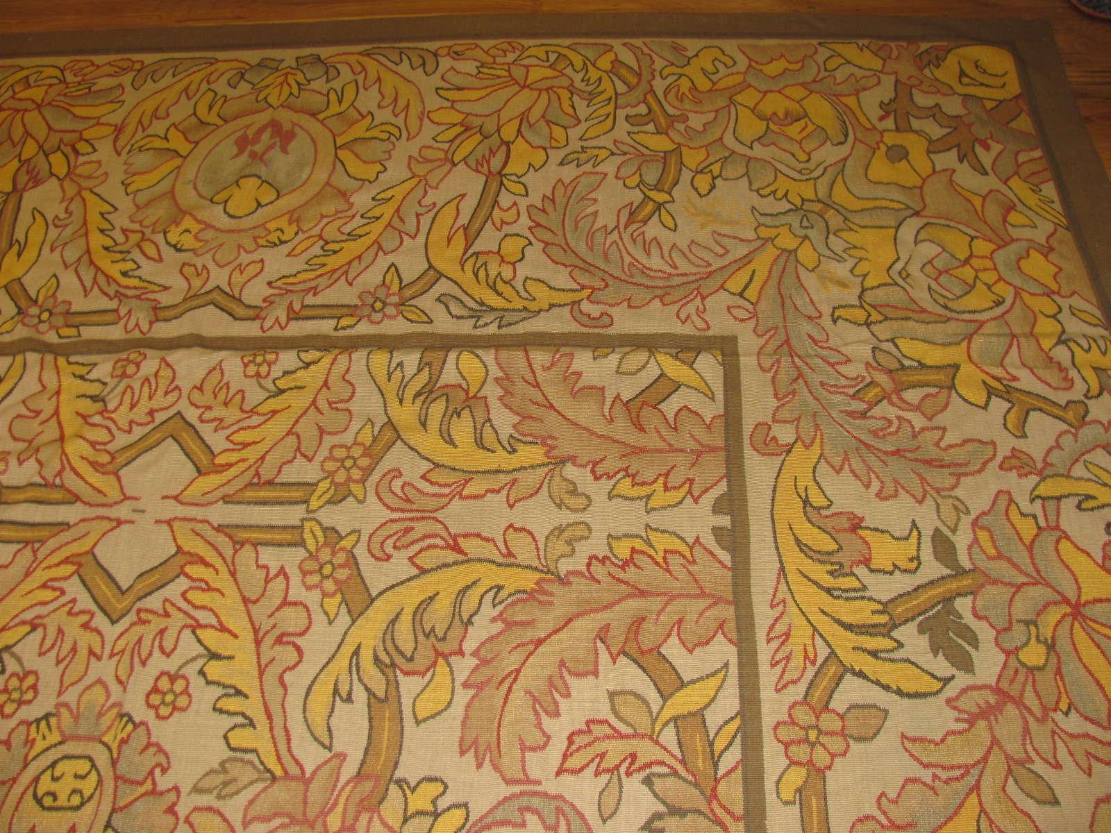 24475 antique Bessarabian rug 10x13,2 -1