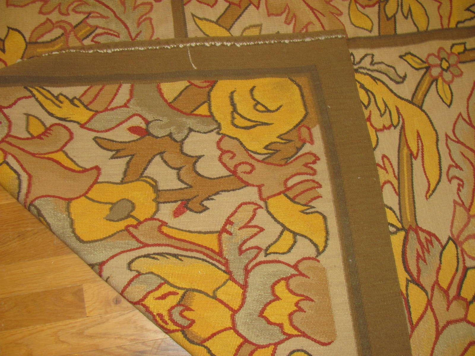 24475 antique Bessarabian rug 10x13,2 -3