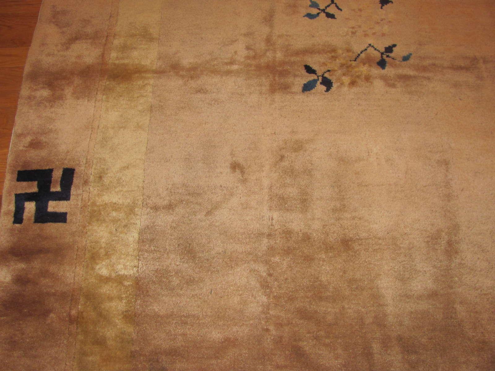 24518 Chinese Mandarin carpet 8,5 x 9,7 -2