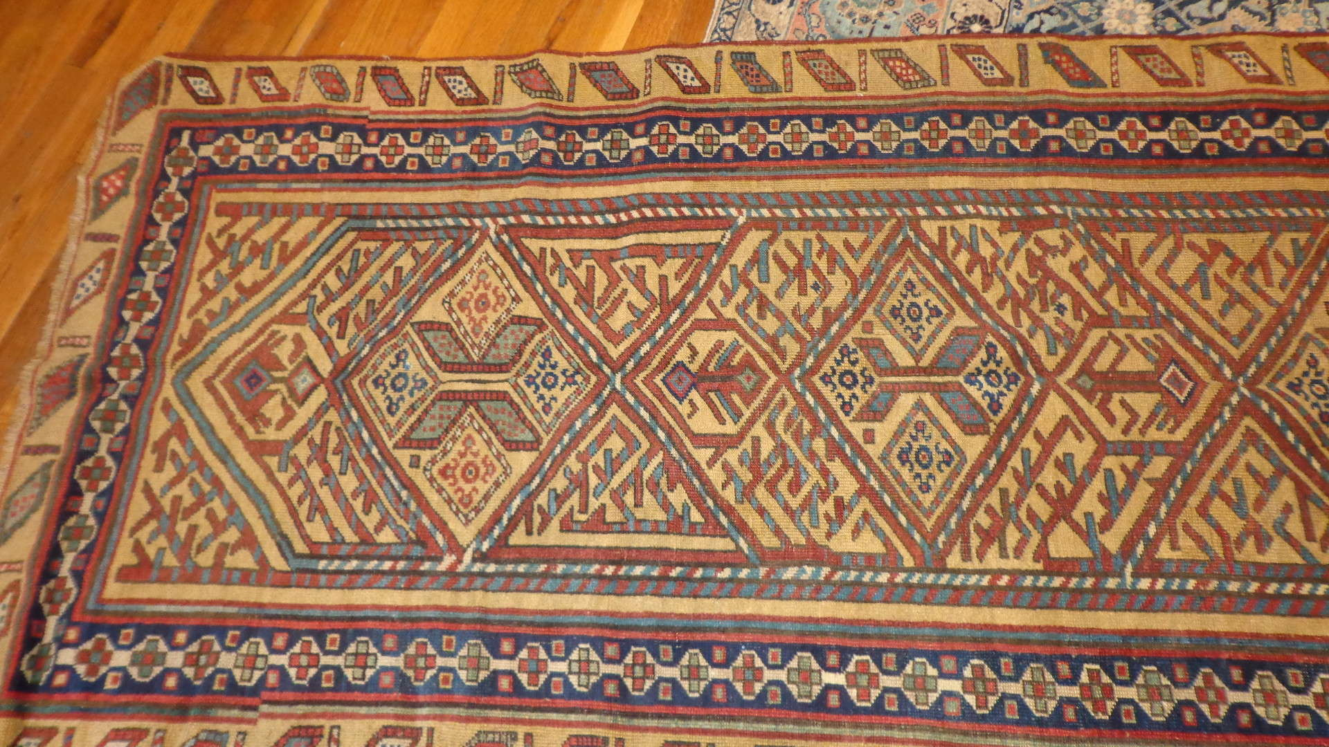 24520 Antique Bakshaish Persian runner rug 3,4 x 8,10 -3