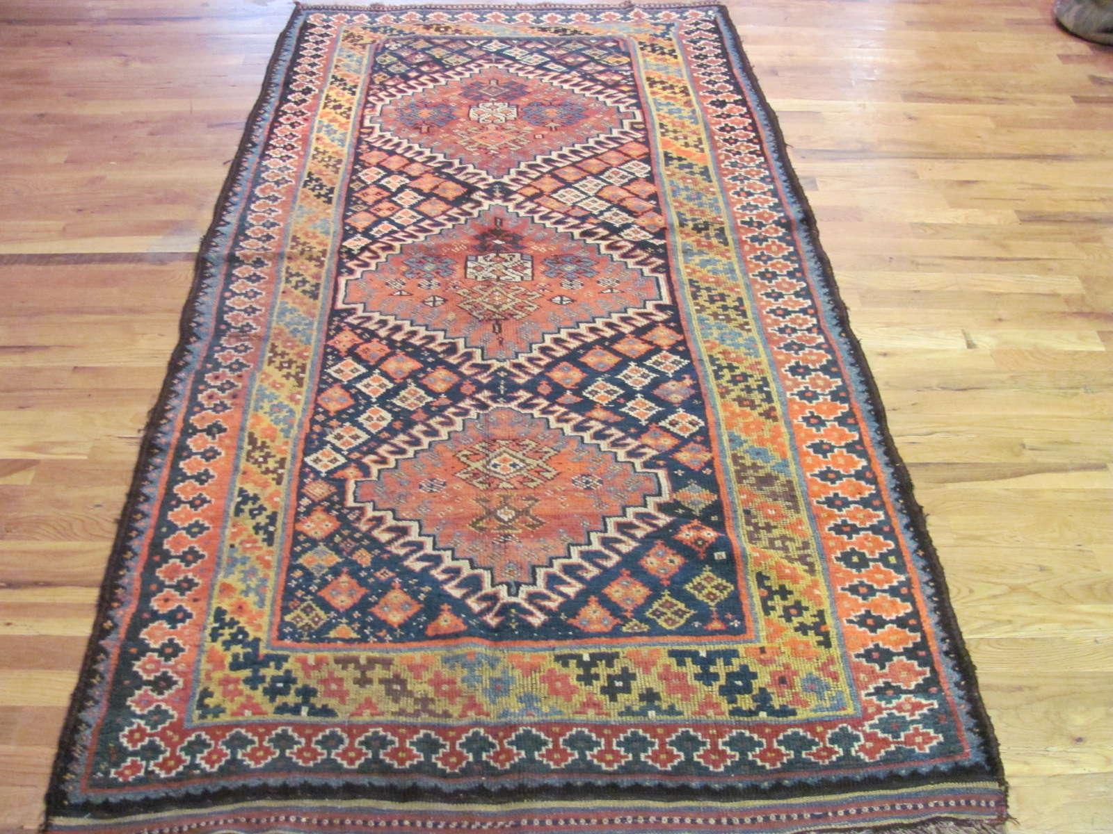 Kurd Rug | Northwest Persia | Handmade | Antique Circa 1910