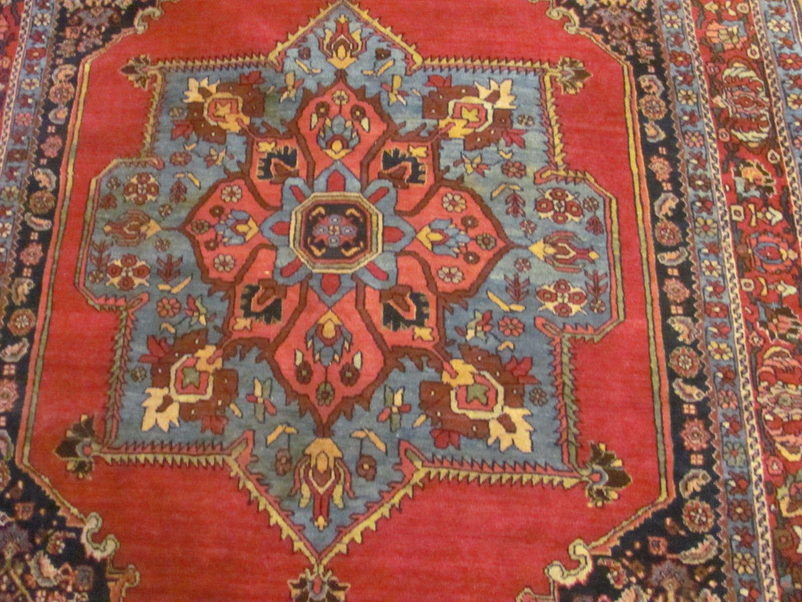 24563 Persian Bijar rug 4,5 x 7,1 -1