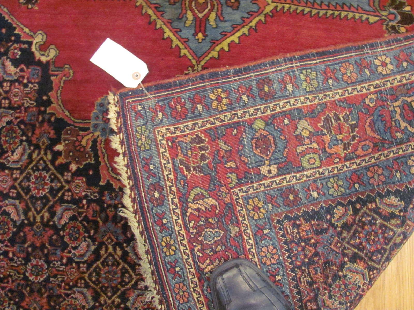 24563 Persian Bijar rug 4,5 x 7,1 -2