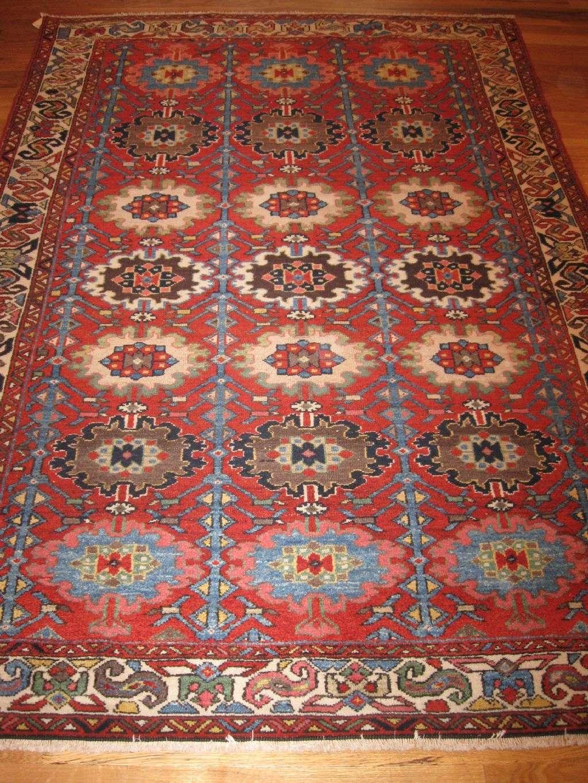 Bakhtiar Rug | Persian | Handmade | Antique, Circa 1910