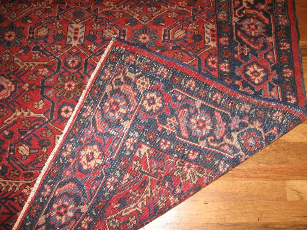 24622 Persian Heriz rug 4,11 x 5,11 -1