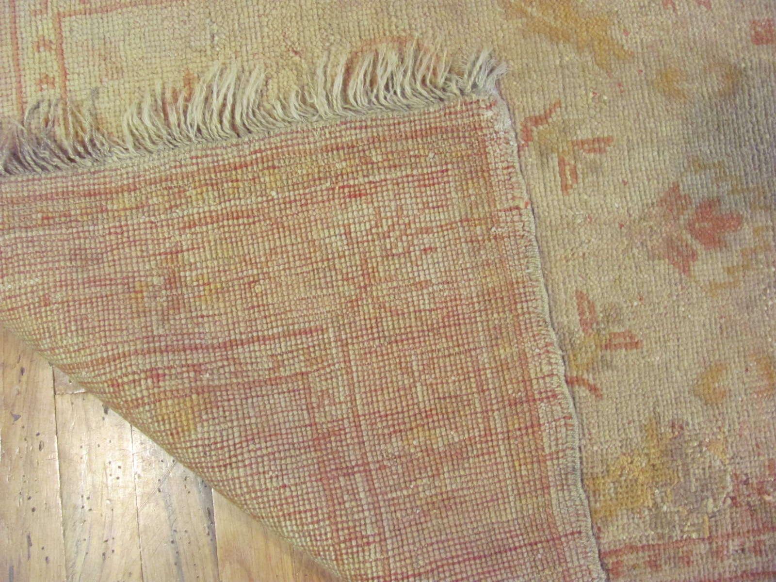 24631 Turkish Oushak rug 2,10 x 5,6 -2