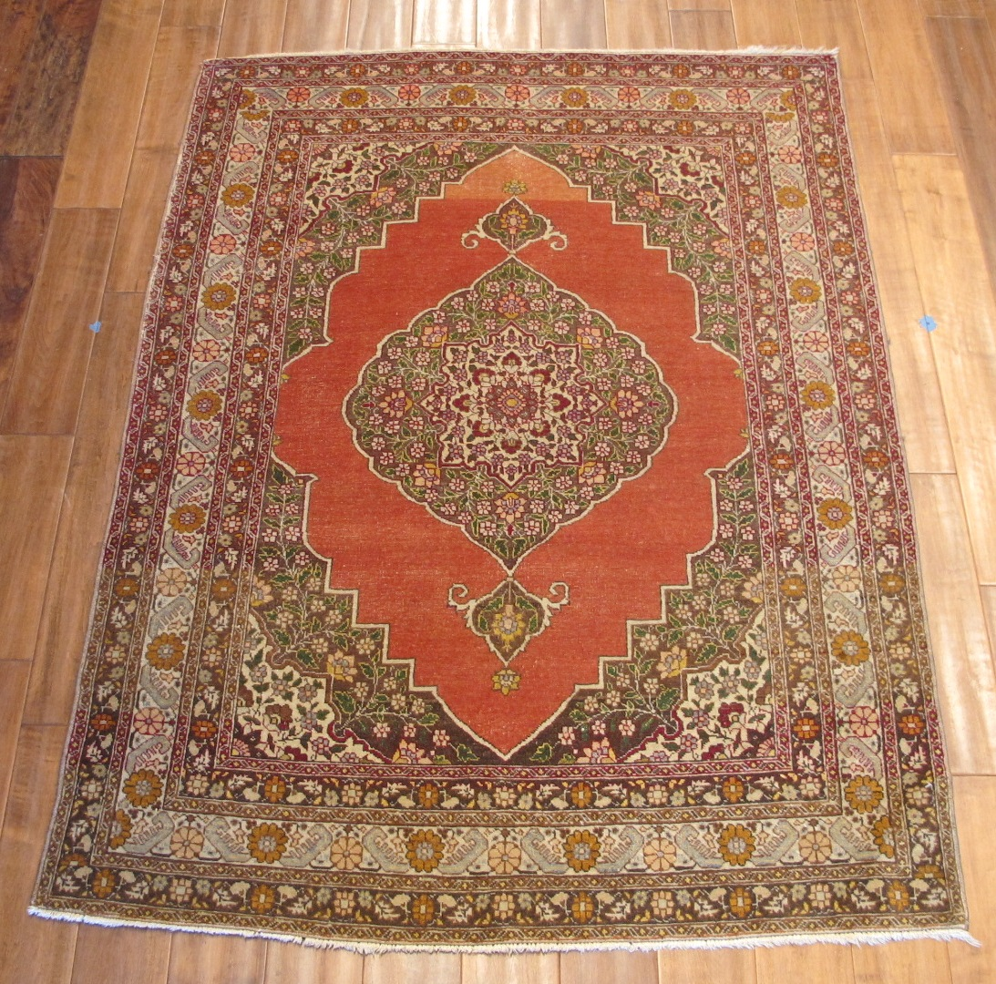 Tabriz Rug   Persia   Handmade, Circa 1920