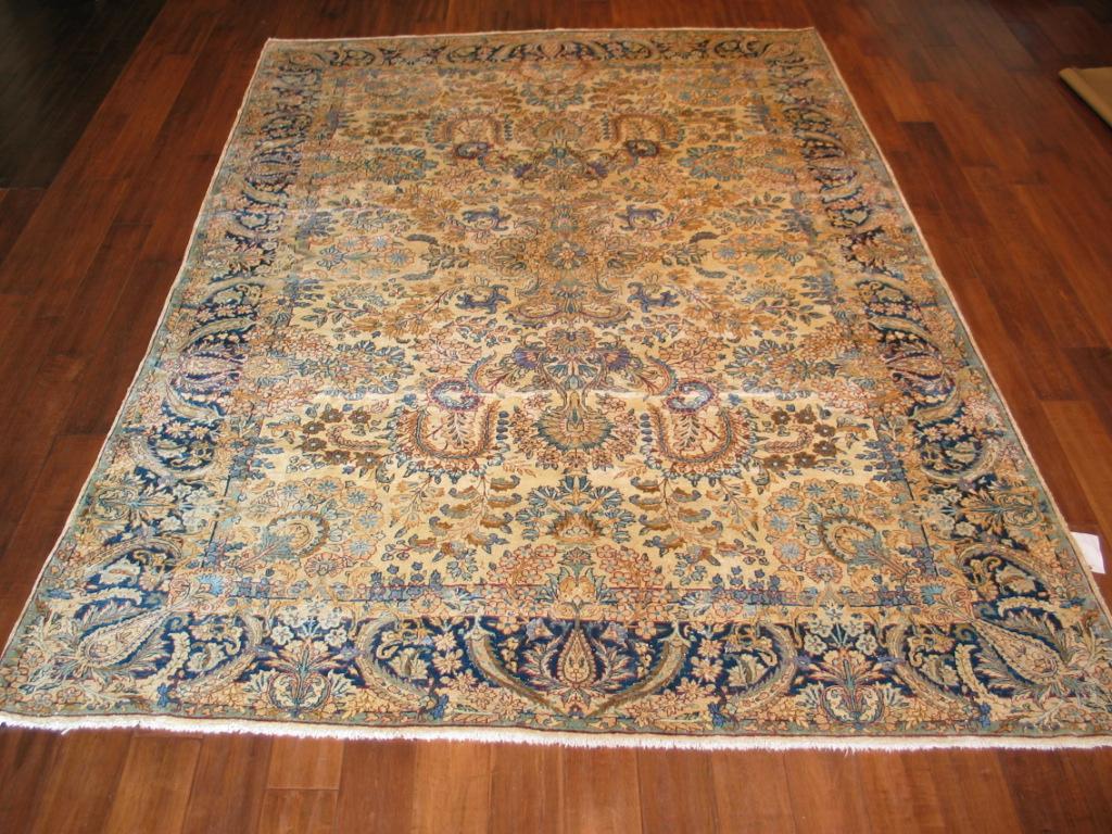 Antique Kirman (Kerman) Carpet | Persia | Circa 1920