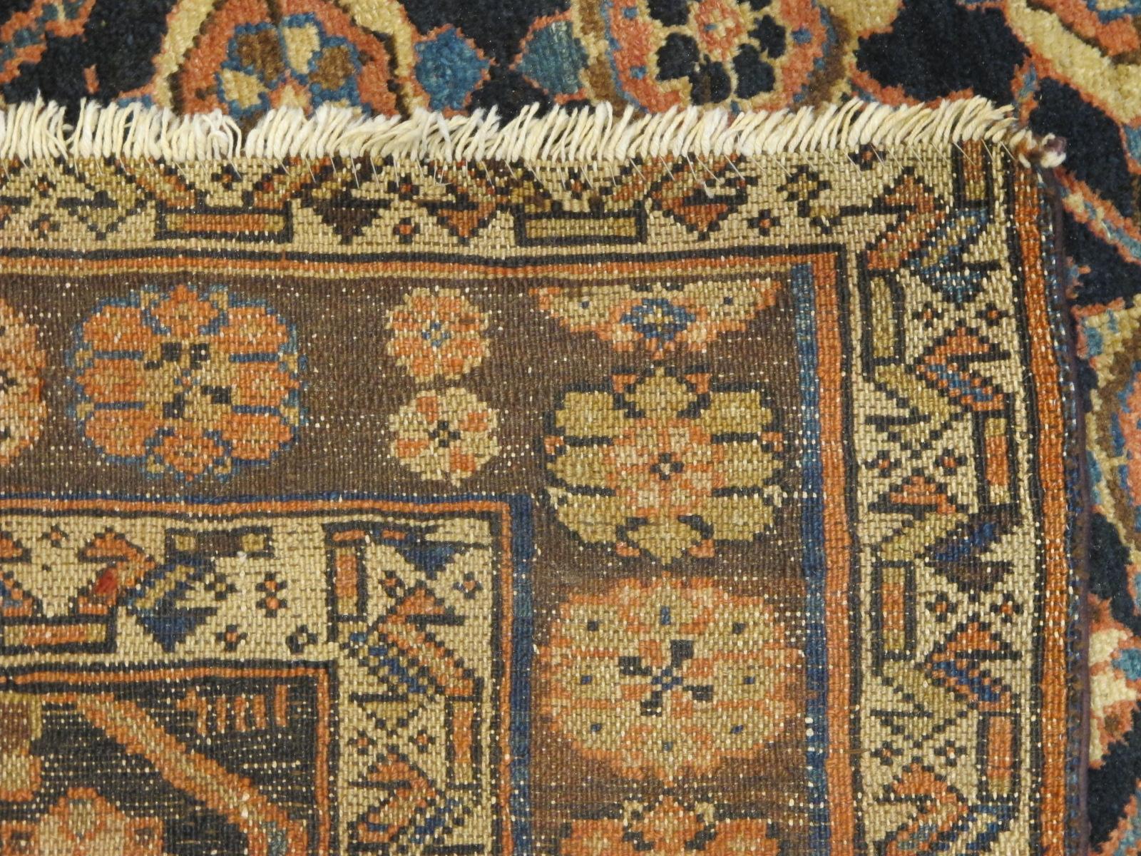 22148 Antique Persian Veramin gallery rug 5,5 x 11,2 (5)