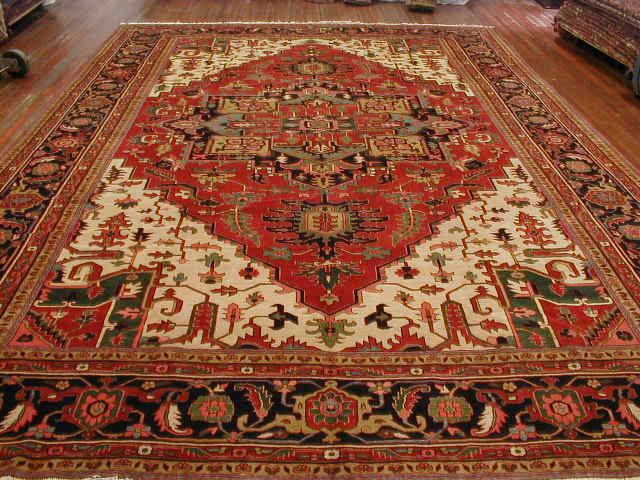 Heriz Rug | Persia | Handmade | Circa 1980