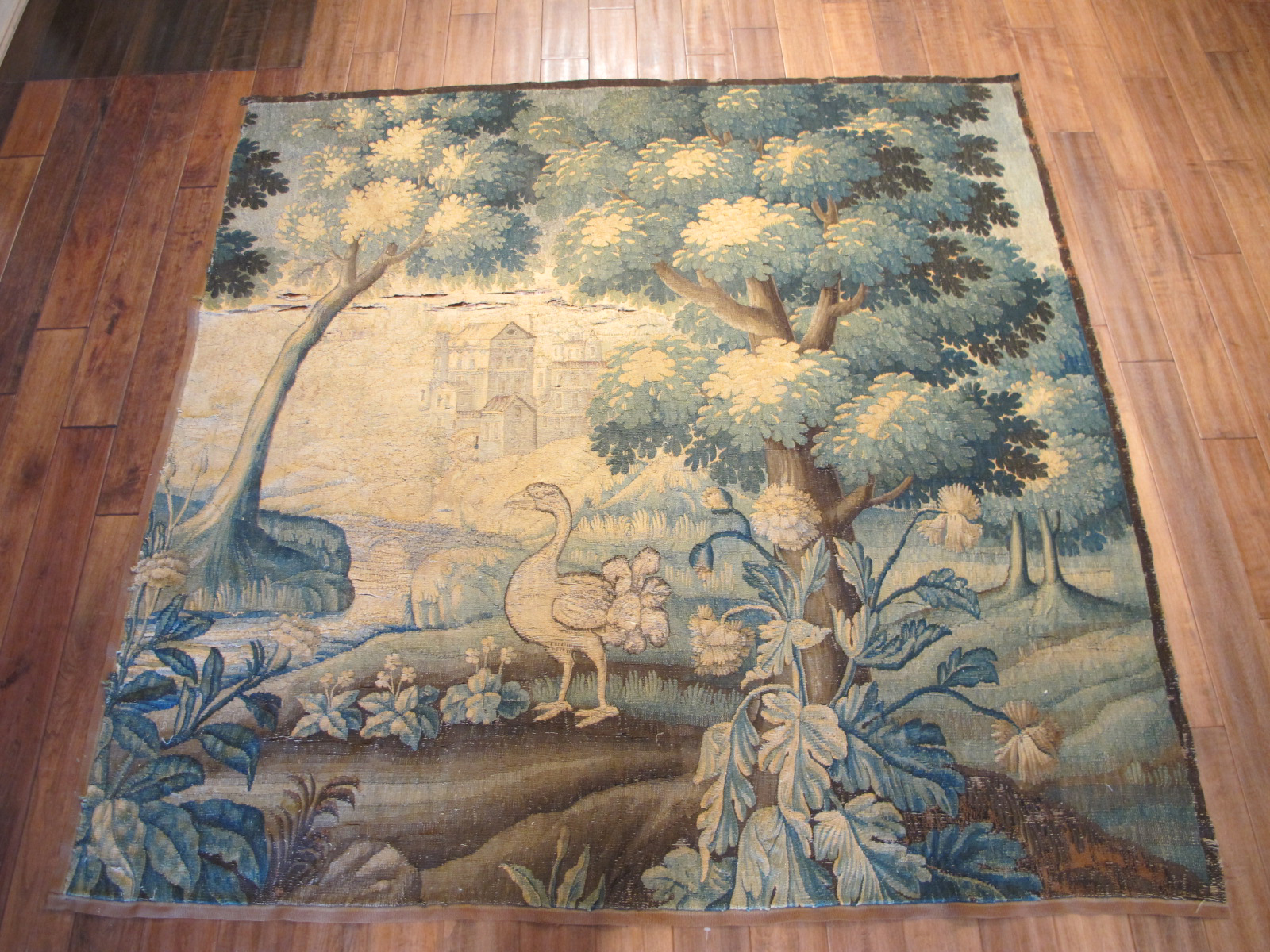 French Tapestry   Antique Circa 17th Century
