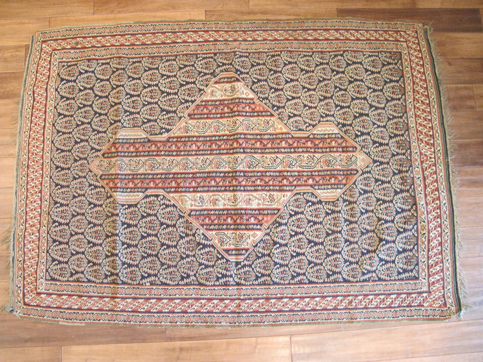 Senneh Kilim Rug | Persia | Antique, Circa 1860