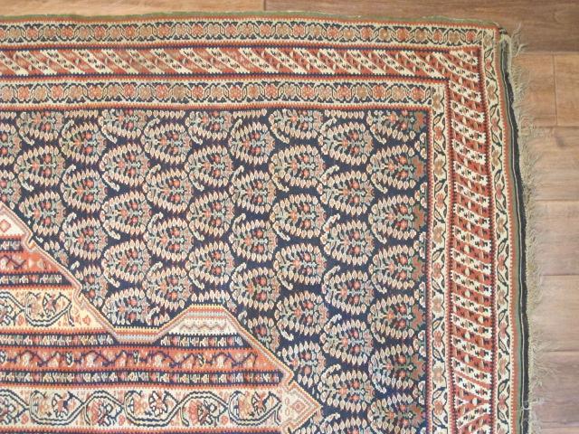 23074 Antique Persian Senneh kilim  (3)