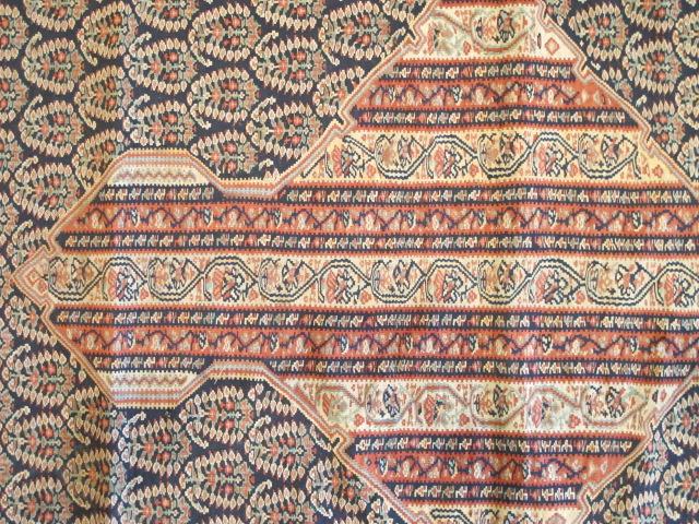 23074 Antique Persian Senneh kilim  (4)